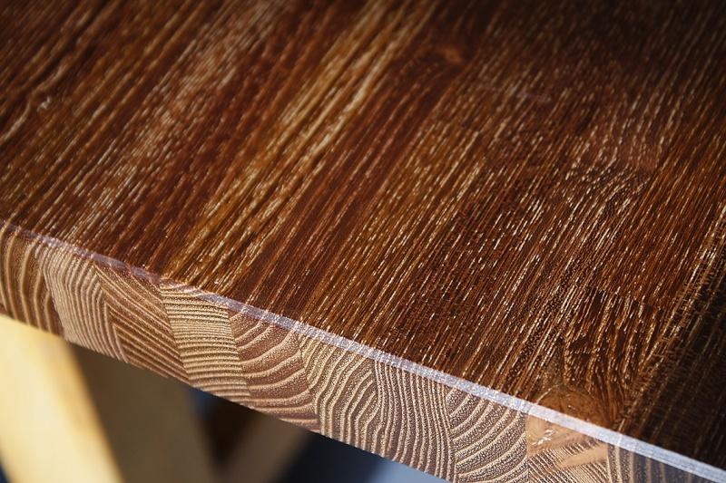 [Fabrication] Table de salon en Robinier étuvé - Page 3 Encaus12