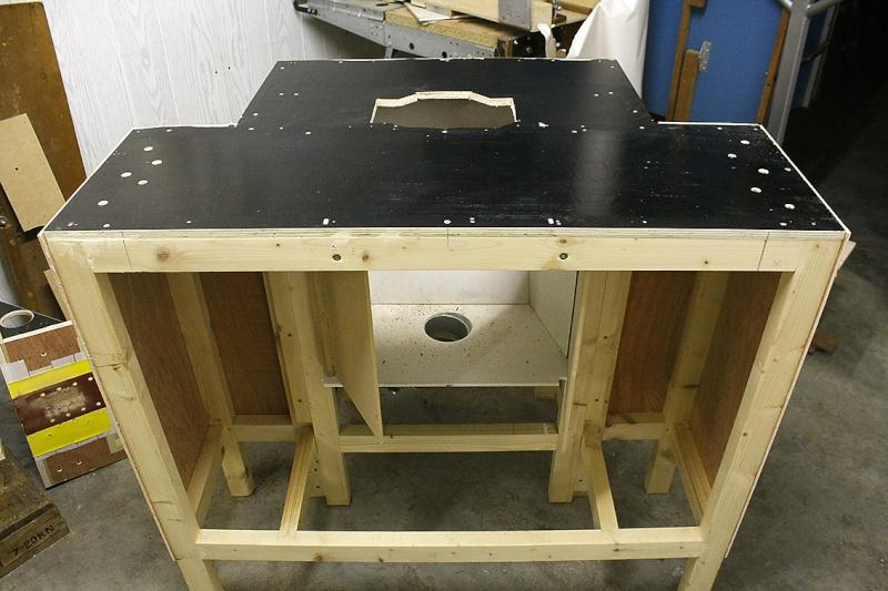 [Fabrication] Nouvelle Table de défonceuse Madium10
