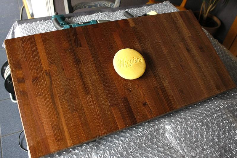 [Fabrication] Table de salon en Robinier étuvé - Page 3 Premie10