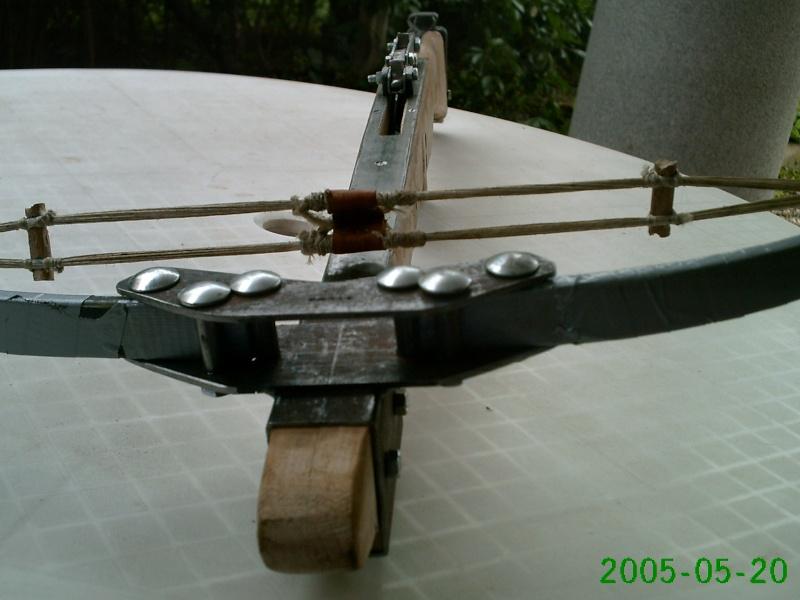 Steel split limb crossbow Bullet11