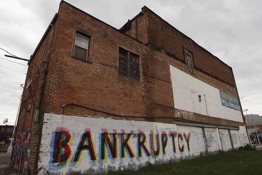 Detroit l'industrieuse se déclare en faillite 35248010