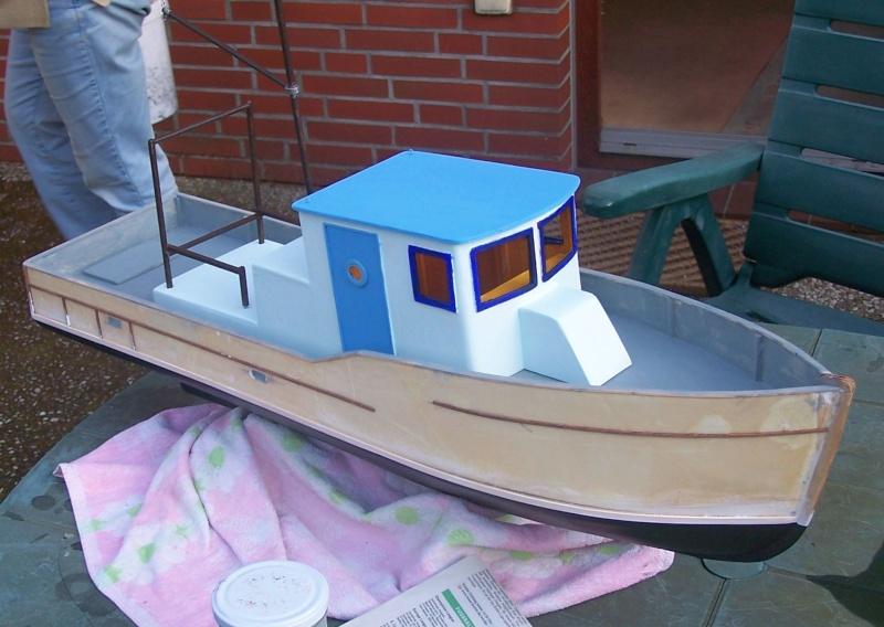 "Baubericht Trawler ""Giacomo"", bei mir ""Mario P."" Giacom34"