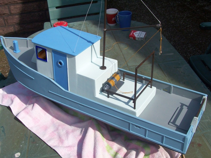 "Baubericht Trawler ""Giacomo"", bei mir ""Mario P."" Giacom39"