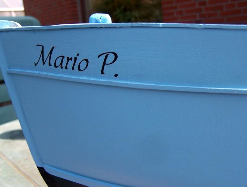 "Baubericht Trawler ""Giacomo"", bei mir ""Mario P."" Giacom40"