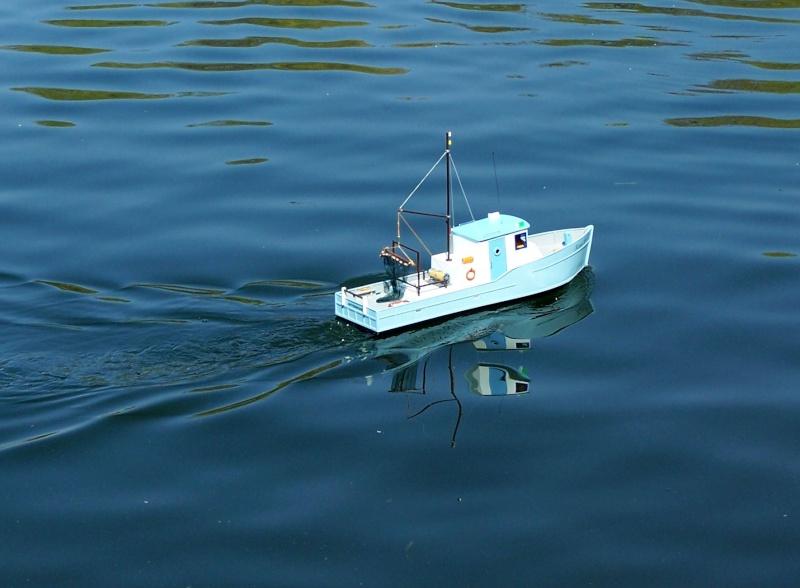 "Baubericht Trawler ""Giacomo"", bei mir ""Mario P."" Hil6310"
