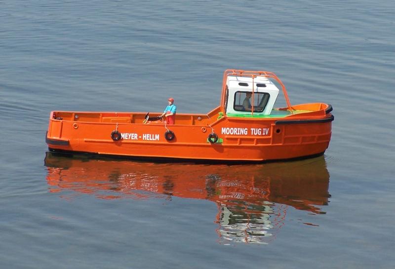 Baubericht Mooring Tug 4  in 1:15 Mt10011