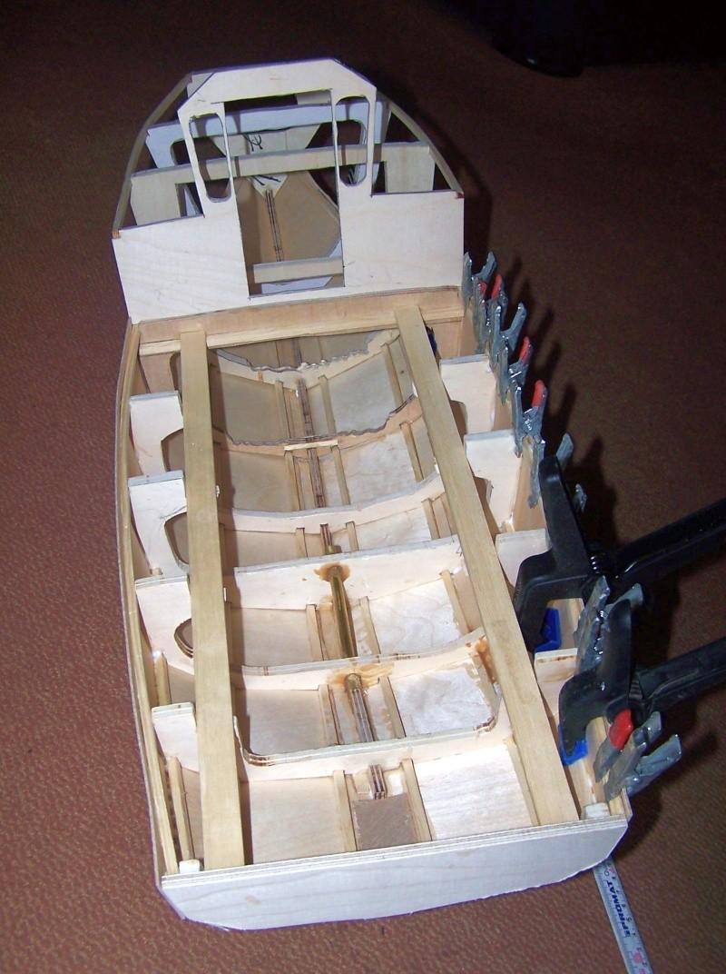 Baubericht Mooring Tug 4  in 1:15 Mt1210