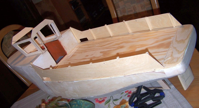 Baubericht Mooring Tug 4  in 1:15 Mt2910