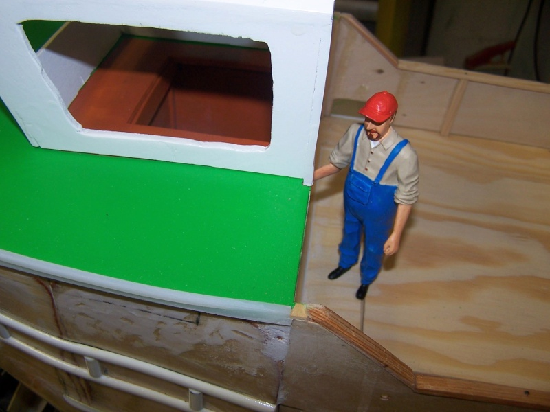Baubericht Mooring Tug 4  in 1:15 Mt4211