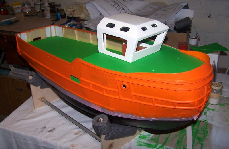 Baubericht Mooring Tug 4  in 1:15 Mt5010