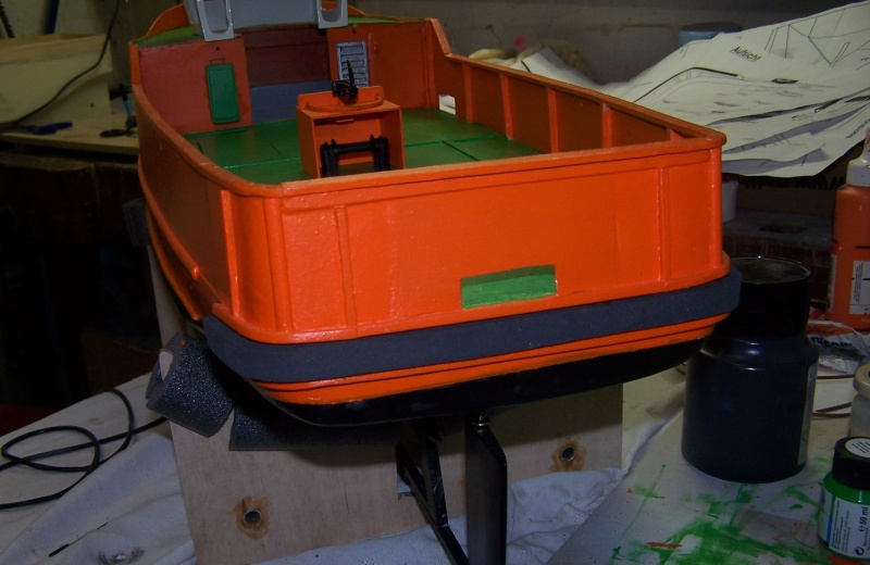 Baubericht Mooring Tug 4  in 1:15 Mt6510
