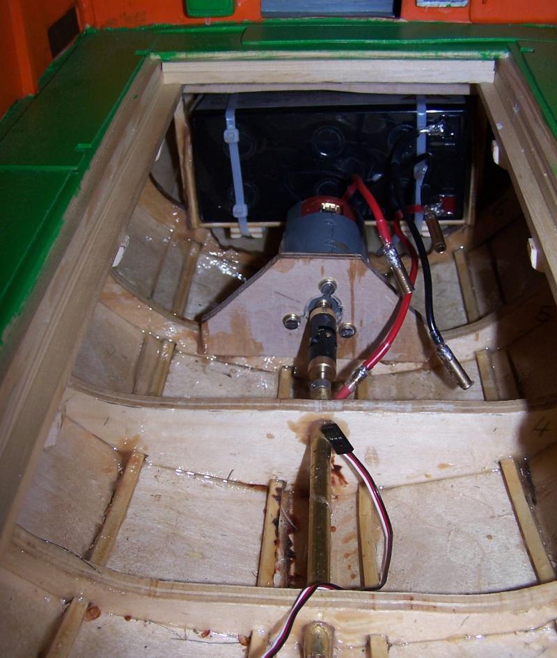 Baubericht Mooring Tug 4  in 1:15 Mt7110