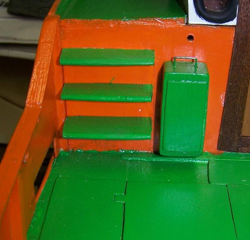 Baubericht Mooring Tug 4  in 1:15 Mt7810