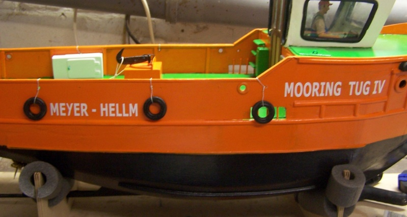 Baubericht Mooring Tug 4  in 1:15 Mt8310