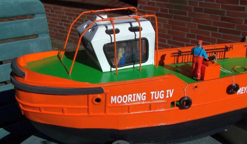 Baubericht Mooring Tug 4  in 1:15 Mt9410