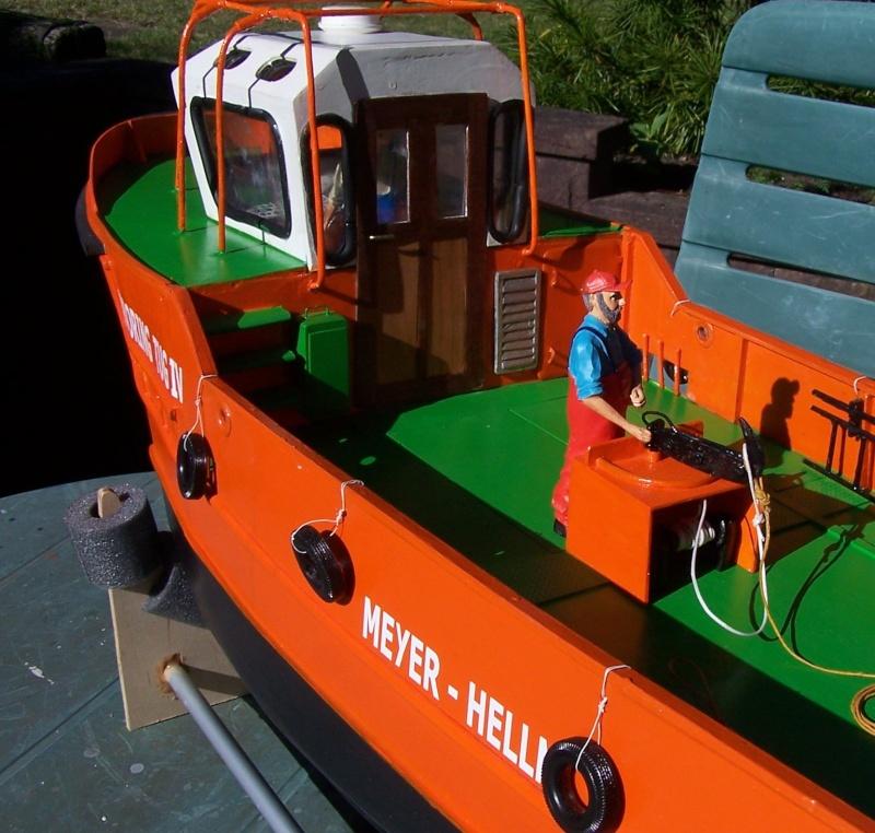 Baubericht Mooring Tug 4  in 1:15 Mt9510