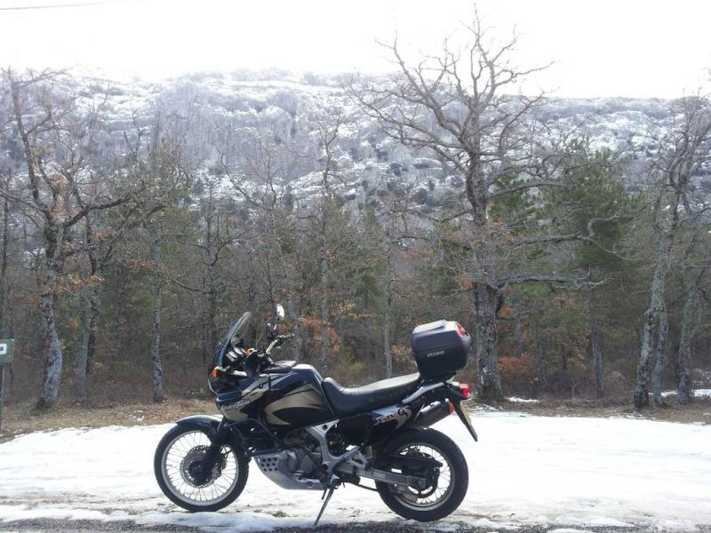 Oui, dans les Cévennes, il fait froid !!! 20130210