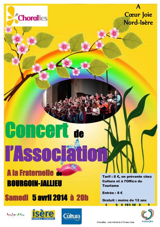 Concert chorales enfants et adultes Bourgoin 05 avril Affich11