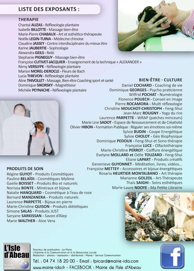 Salon du Bien-Être à l'Isle d'Abeau, weekend 15-16 mars - Gratuit Page_410