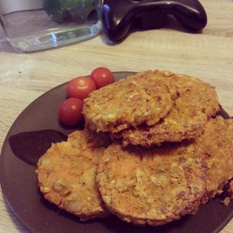 [Végétarien] Galette patate douce/pois chiches  10295710