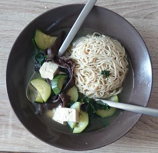 [Végétarien] Soupe chinoise simple Soupe10