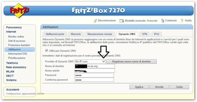 Configurazione fritzbox 7270 da remoto Noip10