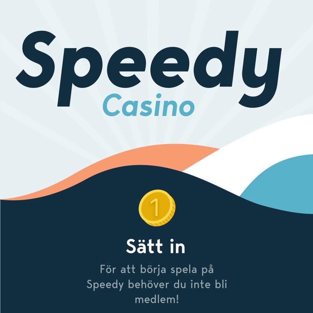 Speedy Casino - 5min. Cashout - Only for SE, FI, DE, - No Regstration Needed 35372710