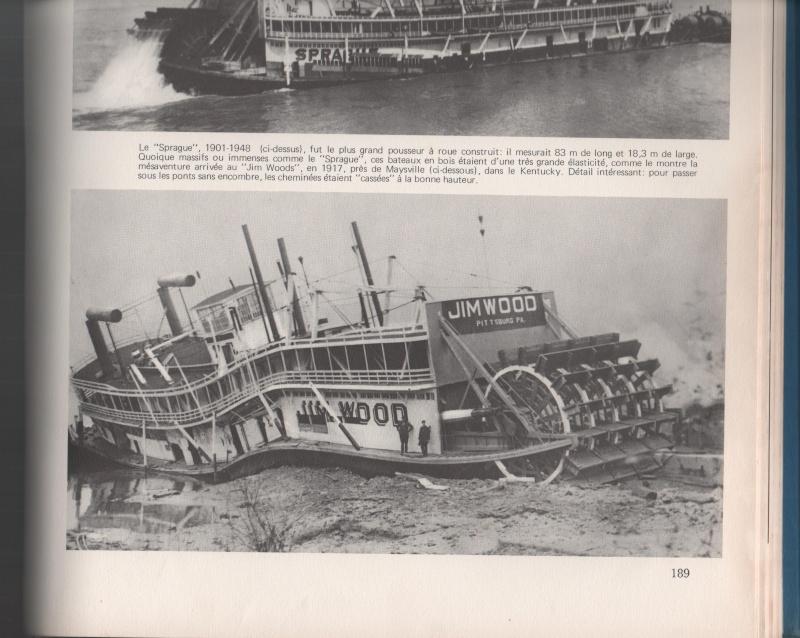 Construction d'un bateau à roue à aube : le Mississippi 1870 Padlpa10