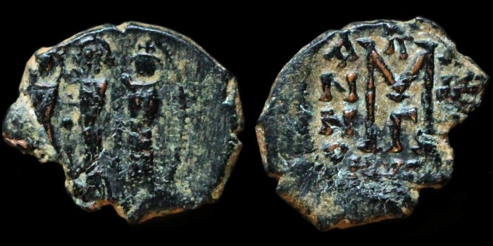 Monnaies pseudo-byzantines et arabo-byzantines 0610-h18