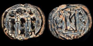 Monnaies pseudo-byzantines et arabo-byzantines 0610-h23