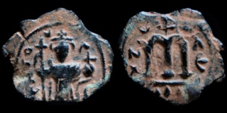 Monnaies pseudo-byzantines et arabo-byzantines 0641-c17