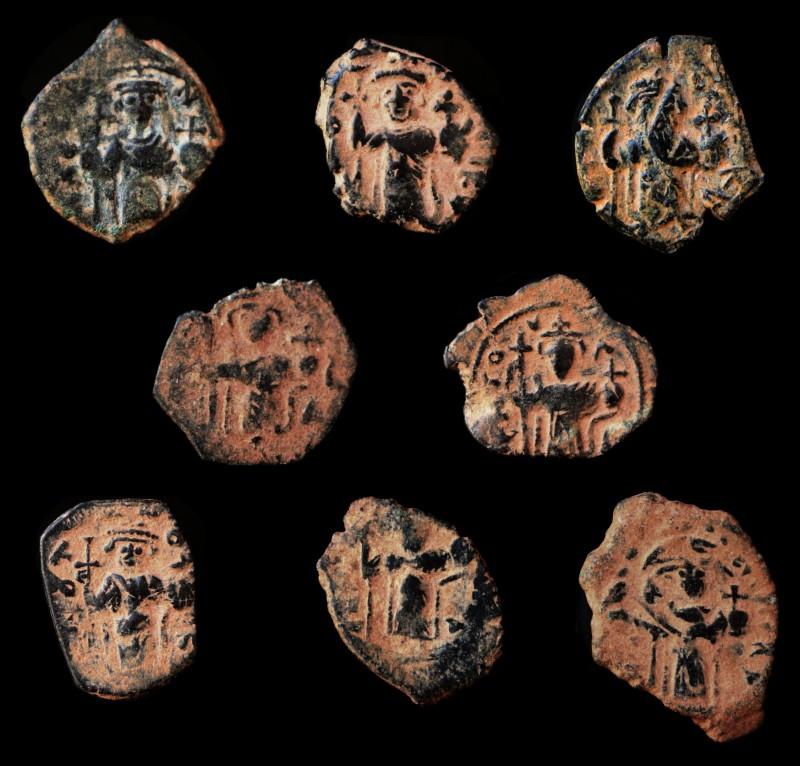 Monnaies pseudo-byzantines et arabo-byzantines Imitat12