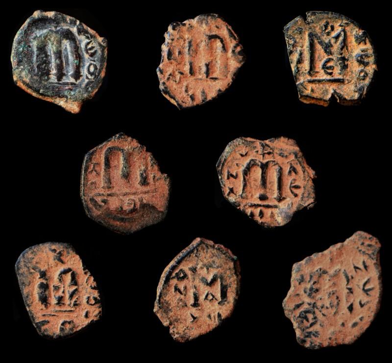 Monnaies pseudo-byzantines et arabo-byzantines Imitat13