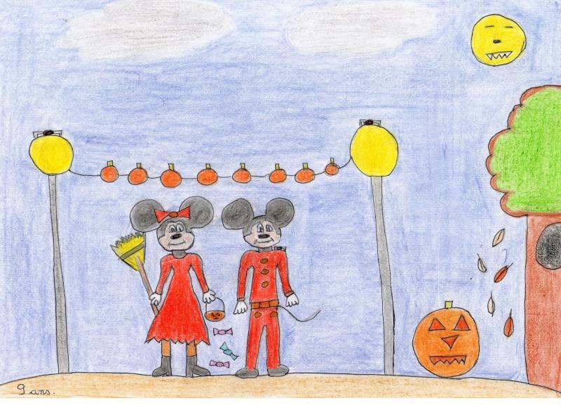 Concours dessins Planes / Halloween Dessin12