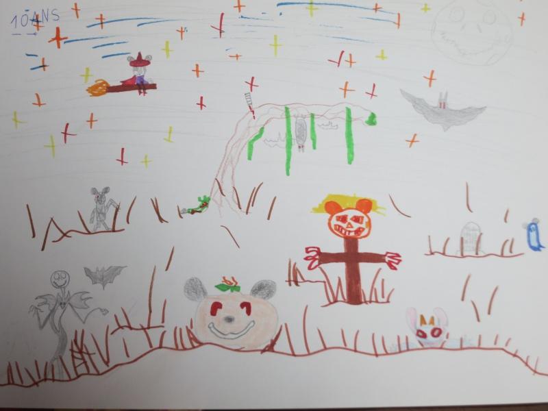 Concours dessins Planes / Halloween Dessin14