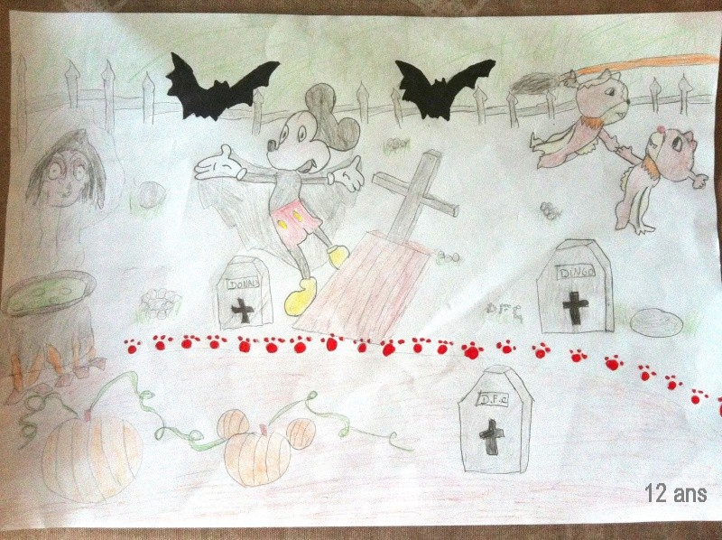 Concours dessins Planes / Halloween Dessin15