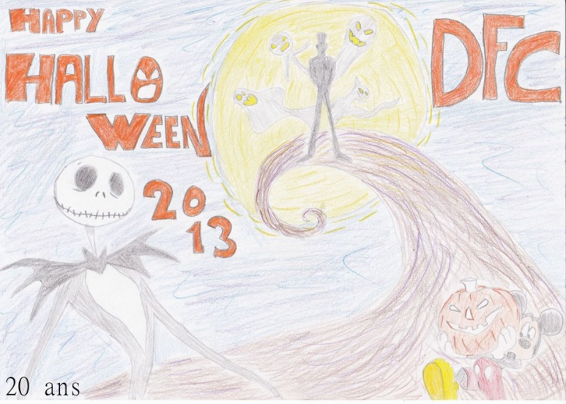 Concours dessins Planes / Halloween Dessin17