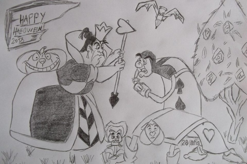 Concours dessins Planes / Halloween Dessin20