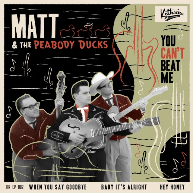 MATT & THE PEABODY DUCKS Rockab11