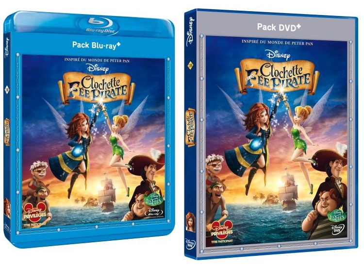 [BD + DVD] Clochette et la fée pirate Fee_bm10