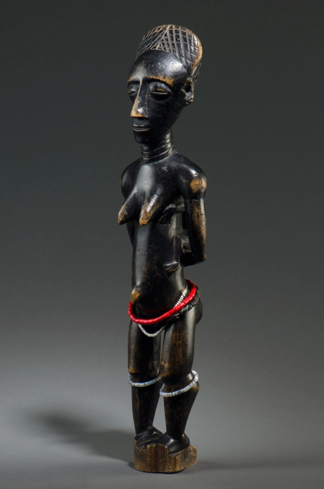 Agni people, Maternity Figure, Ivory Coast Agni_m11