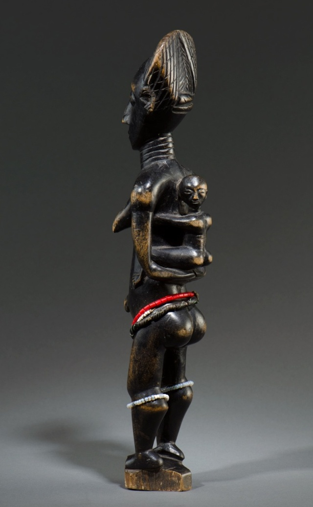 Agni people, Maternity Figure, Ivory Coast Agni_m12