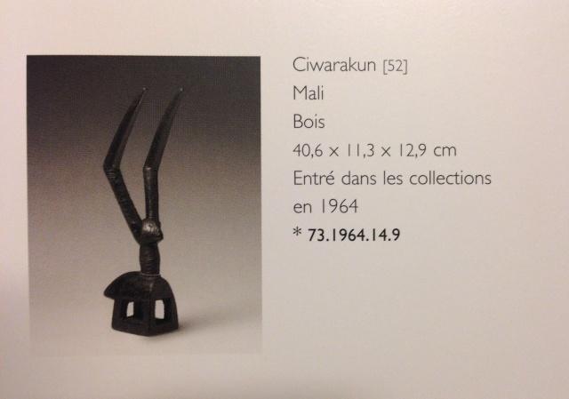 Bamana people, Ciwarakun (Chi-wara) or Sogonikun (Sogoni-kun), Headdress Sculpture, Sikasso Region (?), Mali Foto_212