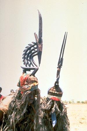 Bamana people, Ciwarakun (Chi-wara) or Sogonikun (Sogoni-kun), Headdress Sculpture, Sikasso Region (?), Mali S-chiw10