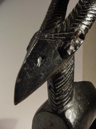 Bamana people, Ciwarakun (Chi-wara) or Sogonikun (Sogoni-kun), Headdress Sculpture, Sikasso Region (?), Mali Testas11