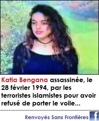 Katia, Une kabyle qui a refusé le Voile islamique Katia11