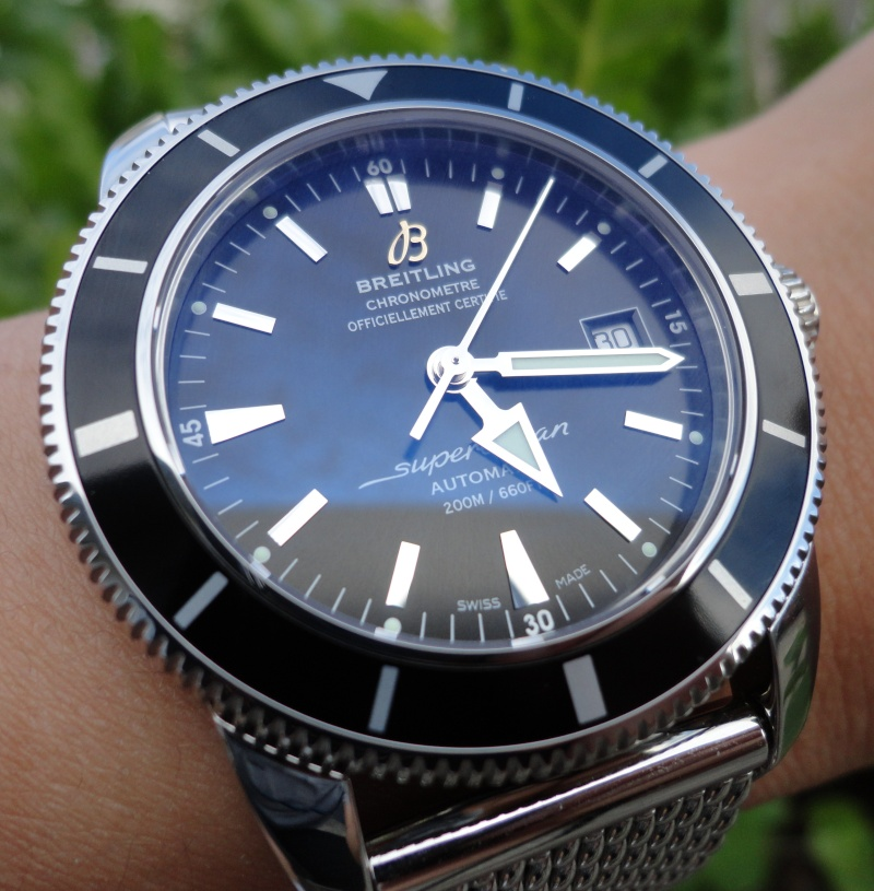 breitling superocean - The Duel : Omega Peter Blake VS Breitling Superocean Heritage  04110