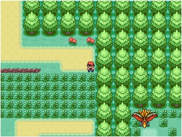XP: Pokémon Special RPG Version Rouge Pokamo10