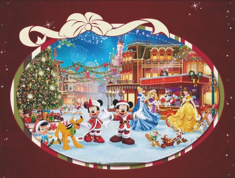 La saison de Noël idéale à Disneyland Paris  Raveil10