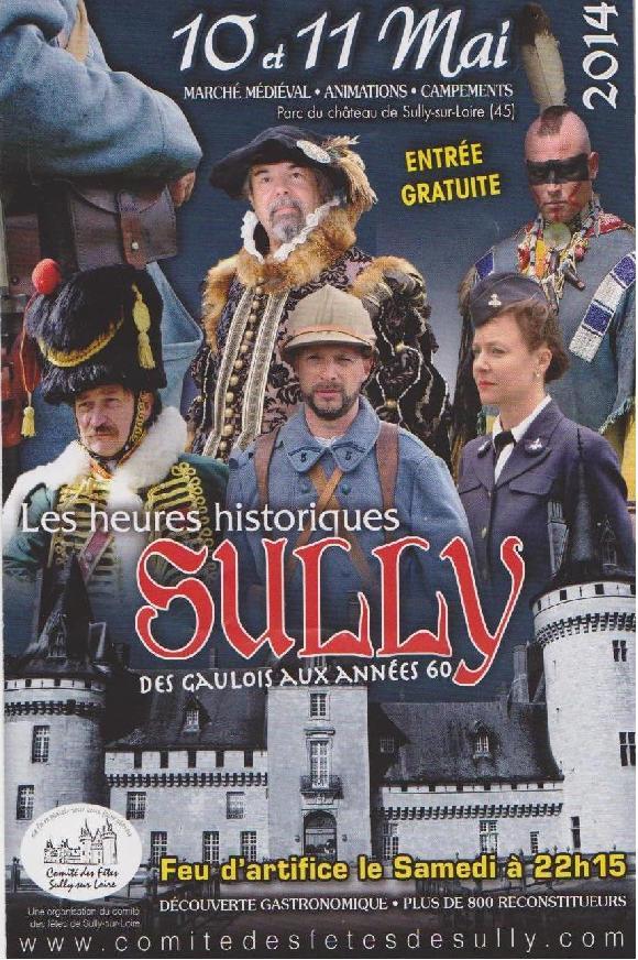 Sully-sur-Loire / les heures historiques / 2014 Sully111